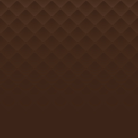 leather texture: Brown square luxury pattern sofa texture background vector