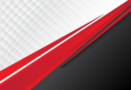 テンプレート企業コンセプト赤黒灰色と白のコントラスト