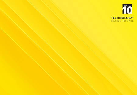 Abstract yellow image that depicts technology with overlapping diagonal lines. Vector illustration Vektorové ilustrace
