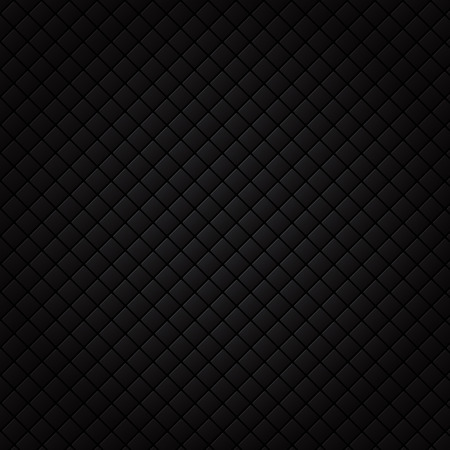 Black square pattern. Luxury sofa background and texture. vector illustration