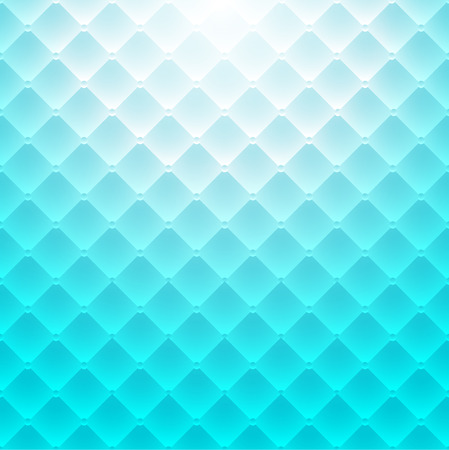 Abstract backgroud blue square pattern. Luxury sofa texture. Vector illustration Illustration