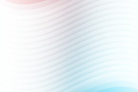Abstract white lines layer wave background and texture. Vector illustration Ilustração