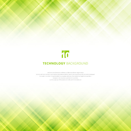 Abstract light green technology background with copy space. Digital fractal pattern. Blurred texture with glass effect. Vector illustration