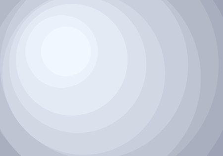 Abstract white and gray circles layers pattern background. Vector illustration