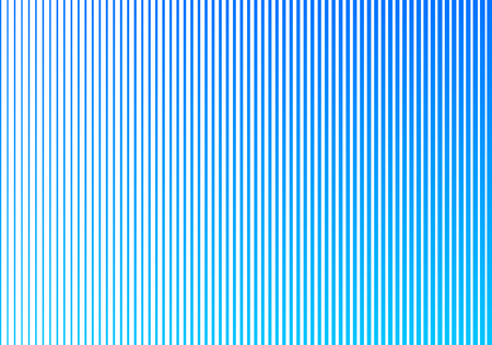 Abstract blue gradient color vertical lines pattern on white background. Halftone style design. Vector illustration Foto de archivo - 123039188