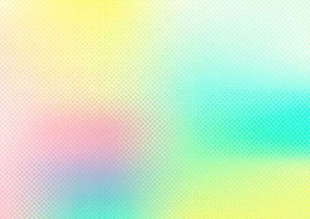 Abstract blurred smooth pastel color background with grid texture. Watercolor bright vibrant colorful. Vector illustration