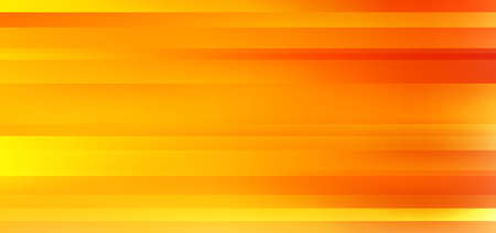 Abstract yellow and orange gradient color blurred motion background. Stripes horizontal movement wallpaper. Vector illustration