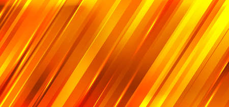 Abstract orange and yellow gradient diagonal stripes motion blur background. Vector illustration 向量圖像