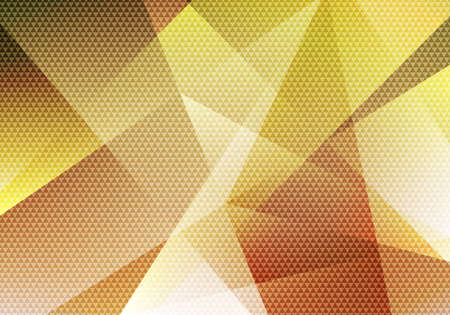 Abstract modern background yellow low polygon with triangle pattern texture. Vector illustration