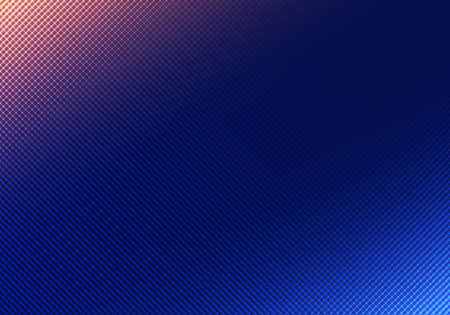 Abstract background blue lighting with grid texture. Vector illustration Illustration