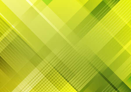 Abstract modern template green stripes diagonal grid pattern and lines background and texture. Vector illustration Illustration