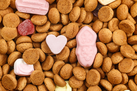 strooigoed: Love Sinterklaas candy and pepernoten. Also called strooigoed for Sinterklaas celebration on 5 december. Event in Holland, Netherlands and Belgium.