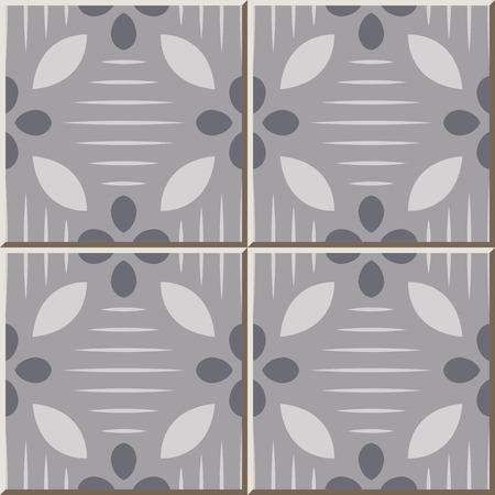 Patrón de baldosas de cerámica 325 gris claro curva de línea cruzada