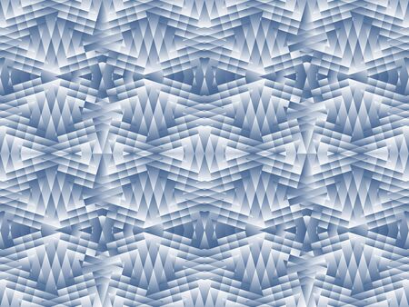 rhomb: Antique seamless background image of rhomb geometry cross glass kaleidoscope Illustration