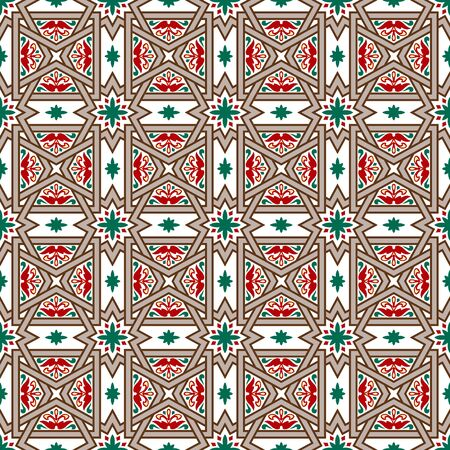 cross bar: Seamless background image of vintage cross bar geometry pattern.