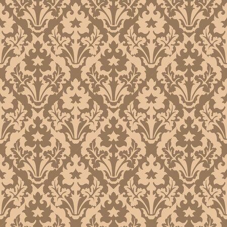 reverse: Seamless background image of vintage plant reverse color pattern kaleidoscope.