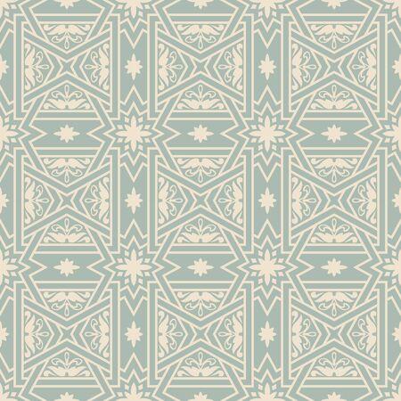 cross bar: Elegant antique background cross bar square star flower