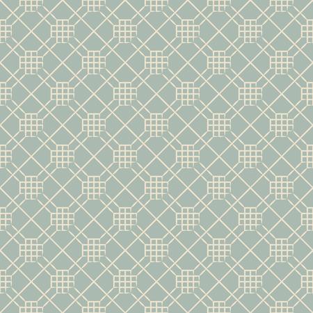 background check: Elegant antique background check polygon cross line Illustration