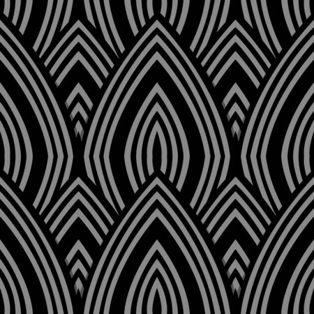 Antique seamless background 436 curve repeat line scale