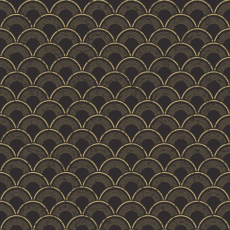 worn out: Seamless worn out vintage fish scale pattern background.