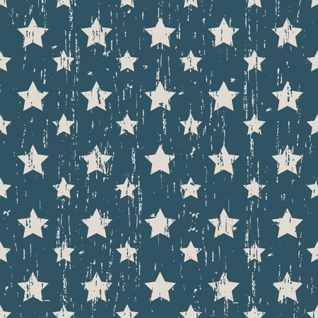out of shape: Seamless vintage worn out star shape pattern background.