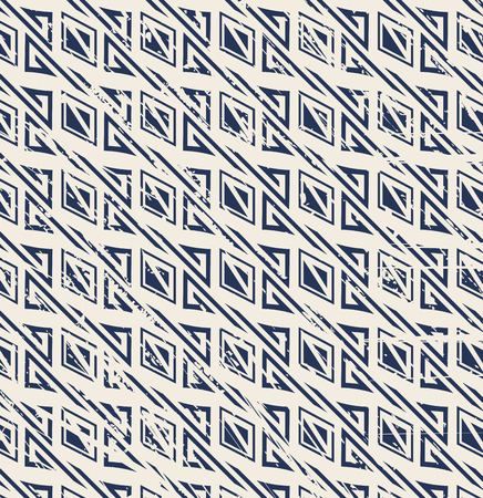 worn out: Seamless vintage worn out geometry pattern background.