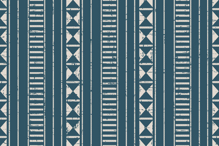 worn out: Seamless worn out antique background image of aboriginal triangle geometry line