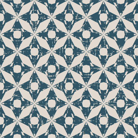 worn out: Seamless worn out antique background image of round octagon geometry