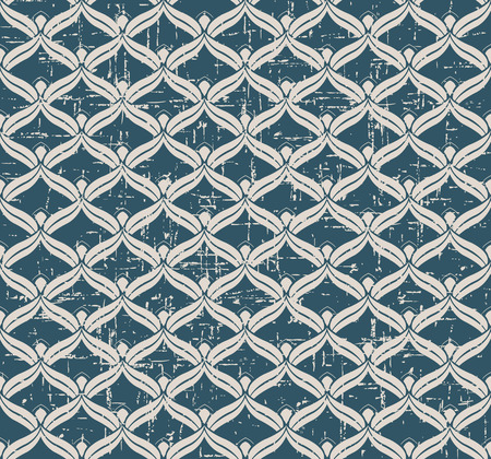 cuve: Seamless worn out antique background image of scale cuve geometry cross
