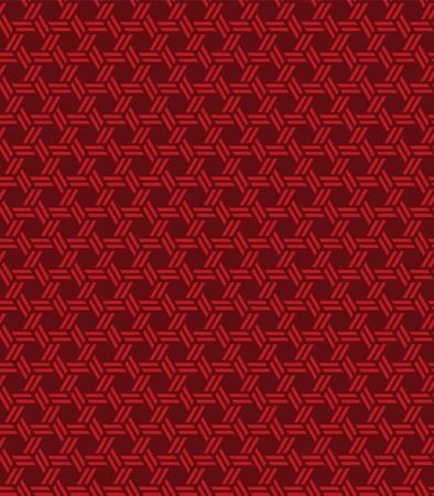 シームレスなヴィンテージ中国ウィンドウの網目模様は、ジオメトリの多角形パターンの背景を繰り返します。  イラスト・ベクター素材