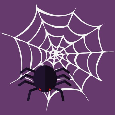 Bloody Halloween parts - spider web.