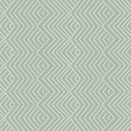 Antique seamless background oriental geometry check sawtooth cross line Illustration