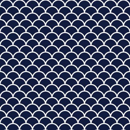 Sfondo blu cinese senza saldatura Curva di scala cinese asiatico rotondo cornice rotonda Archivio Fotografico - 77781263