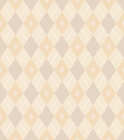 우아한 원활한 빅토리아 벽지 배경 rhomb 체크 크로스 다이아몬드 기하학 라인 일러스트