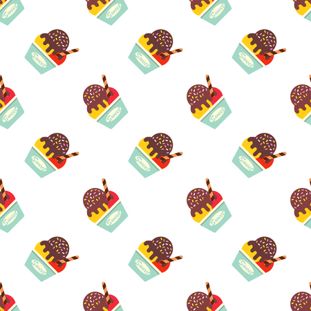 lollies: Seamless background image colorful watercolor  pattern Illustration