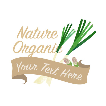 Colorful watercolor texture vector nature organic vegetable banner lemongrass