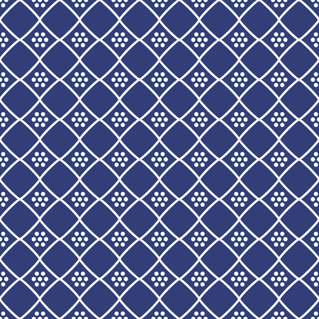 Seamless background southeast Asian retro aboriginal traditional art textile pattern check dot cross frame line