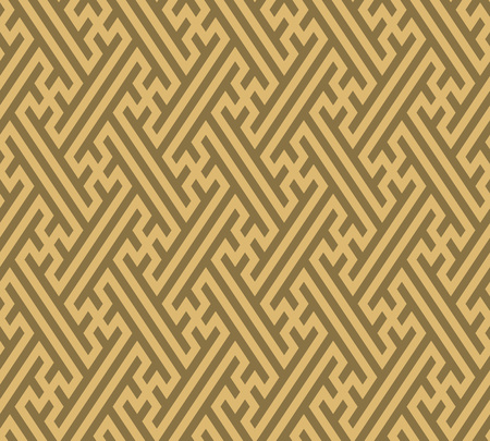 Seamless background southeast Asian retro aboriginal traditional art textile pattern geometry cross tracery frame line