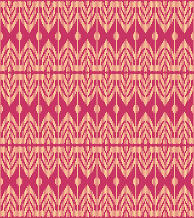 Seamless background southeast Asian retro aboriginal traditional art textile pattern geometry line woven cross