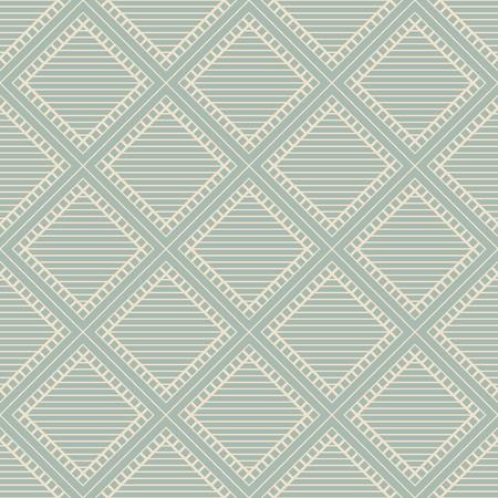 アンティークシームレスな背景スクエアチェッククロスフレームライン、壁紙の装飾やグリーティングカードのデザインテンプレートに最適です。 写真素材 - 102091719