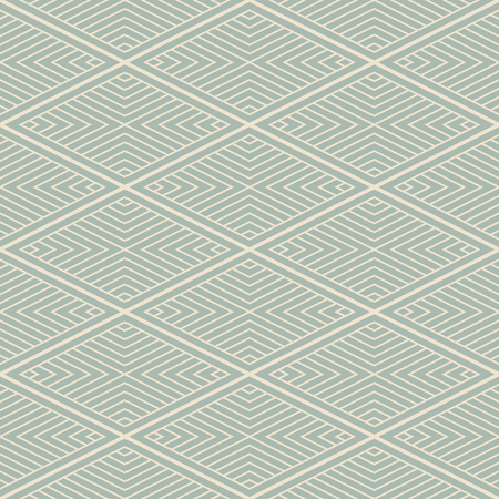 Antique seamless background Diamond Check Cross Vortex Frame Line, Ideal for wallpaper decoration or greeting card design template.