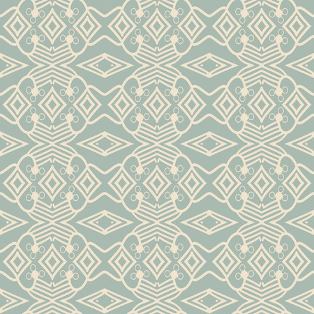 Antique seamless background Check Cross Aboriginal Geometry Line, Ideal for wallpaper decoration or greeting card design template. 矢量图像