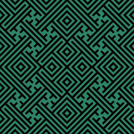 Antique seamless background Geometry Spiral Check Cross Tracery, Ideal for wallpaper decoration or greeting card design template.