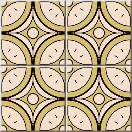 Ceramic Tile Pattern Curve Round Cross Star Frame Line Oriental - Ceramic tile star designs