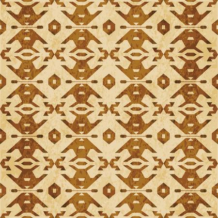 Retro brown cork texture grunge seamless background Polygon Geometry Cross