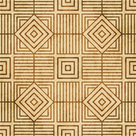 Retro brown cork texture grunge seamless background Square Check Spiral Cross Frame Line