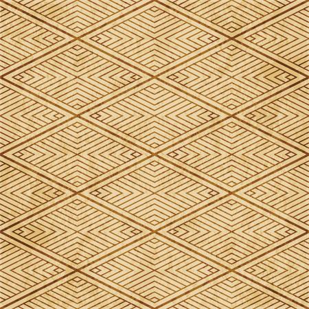 Retro brown cork texture grunge seamless background Diamond Check Cross Vortex Frame Line