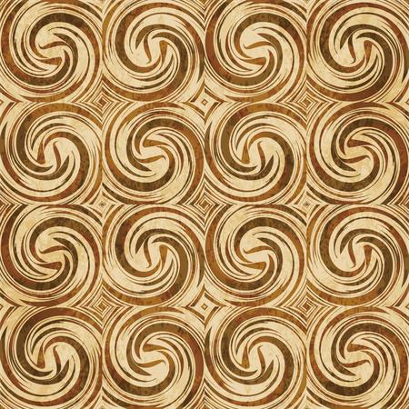 Retro brown cork texture grunge seamless background Spiral Vortex Cross Wind Swirl Wave Stock Vector - 103577348