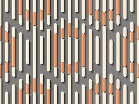 Escultura en relieve sin costuras decoración retro patrón polígono geometría punto de cruz marco línea. Ideal para tarjetas de felicitación o diseño de plantillas de fondo. Ilustración de vector