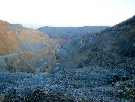 bagger: Stone mine